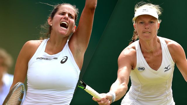 (13) Goerges vs. (20) Bertens (Ladies' Quarterfinals)