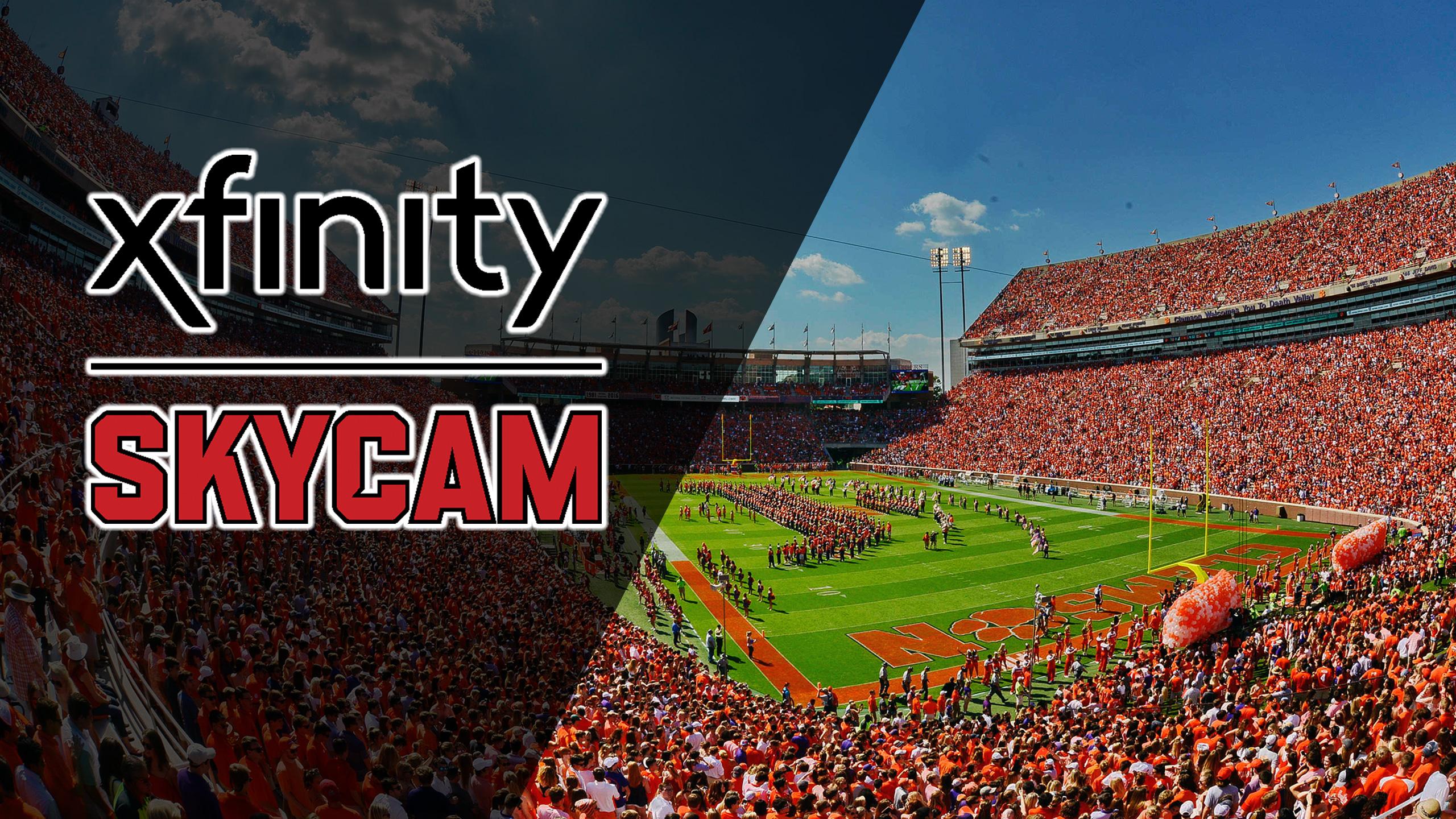 Xfinity Skycam - Duke vs. #2 Clemson (Football)