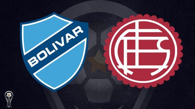 Bolívar vs. Lanús (solo para Argentina y Uruguay)