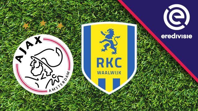 Ajax vs. RKC Waalwijk