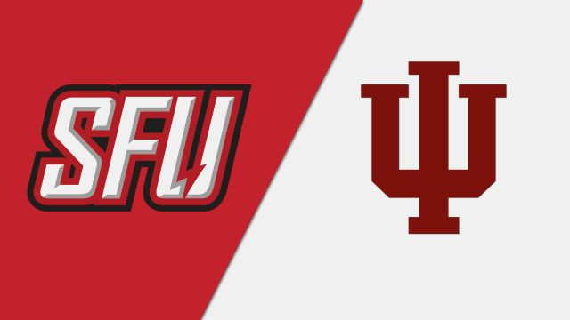 #8 St. Francis (PA) vs. #1 Indiana (First Round) (NIT)