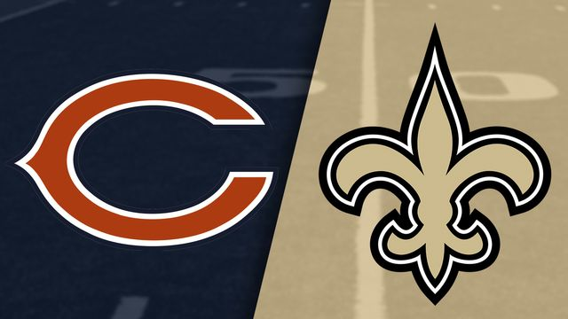 Chicago Bears vs. New Orleans Saints