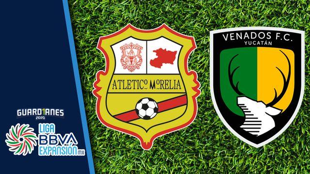 Club Atlético Morelia vs. Venados FC (Reclasificación)