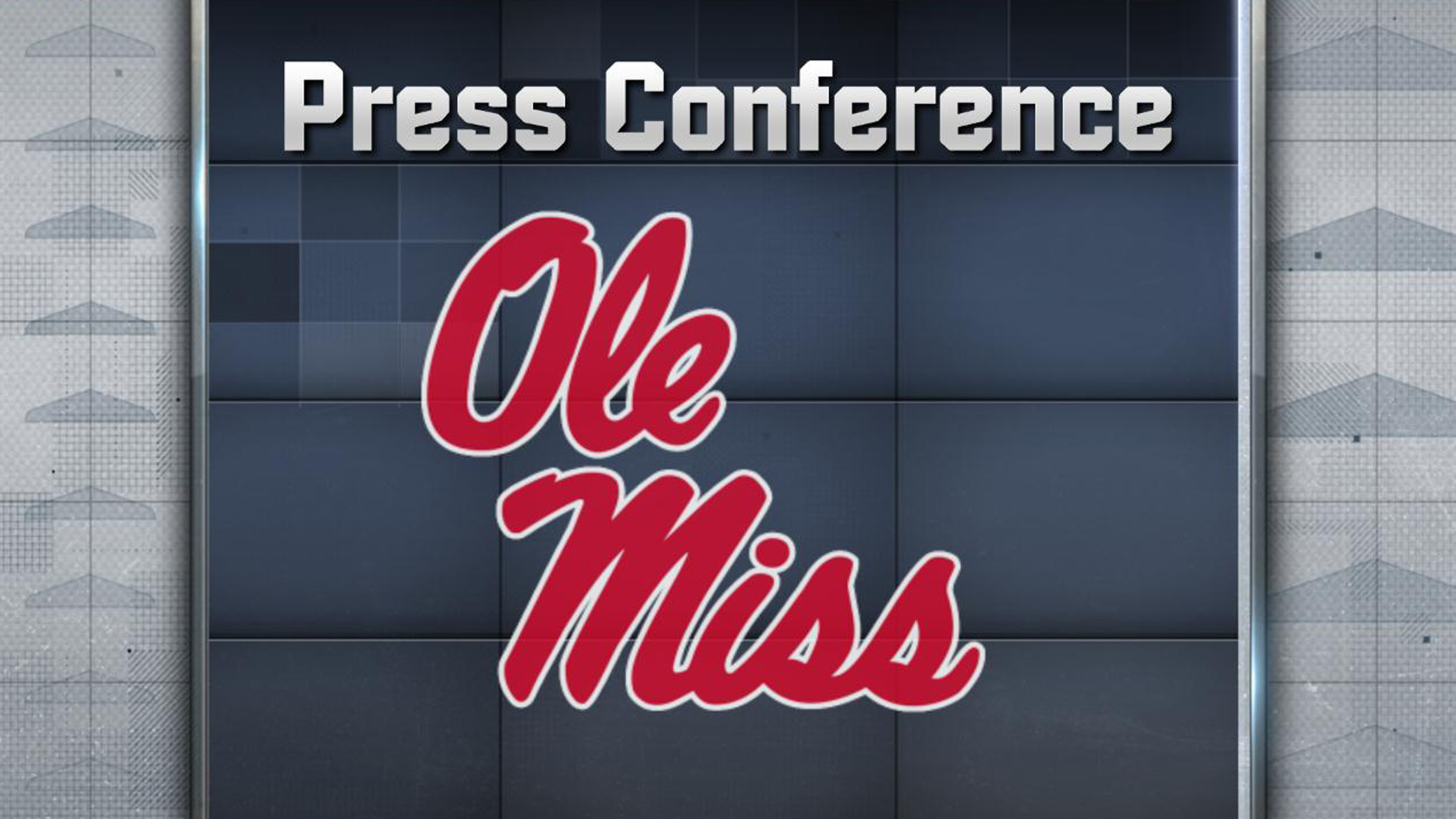 Ole Miss Football Press Conference