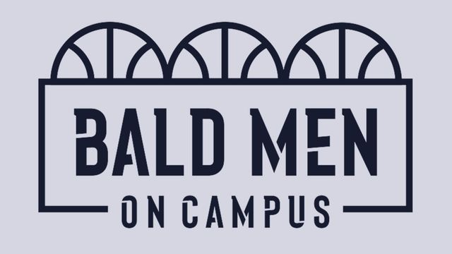 Bald Men on Campus