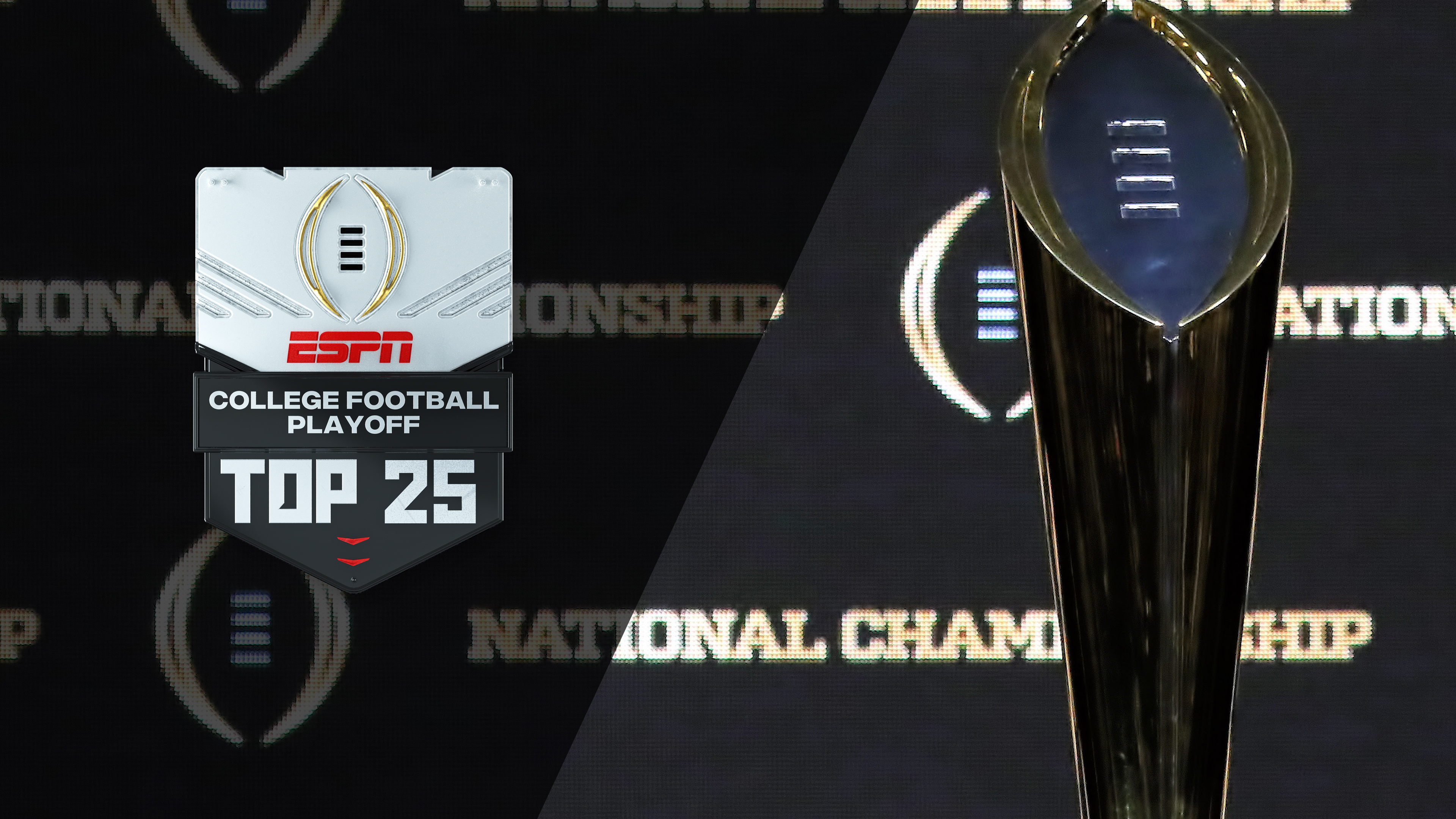 Tue, 10/23 - College Football Playoff: Top 25 Presented by Chick-fil-A