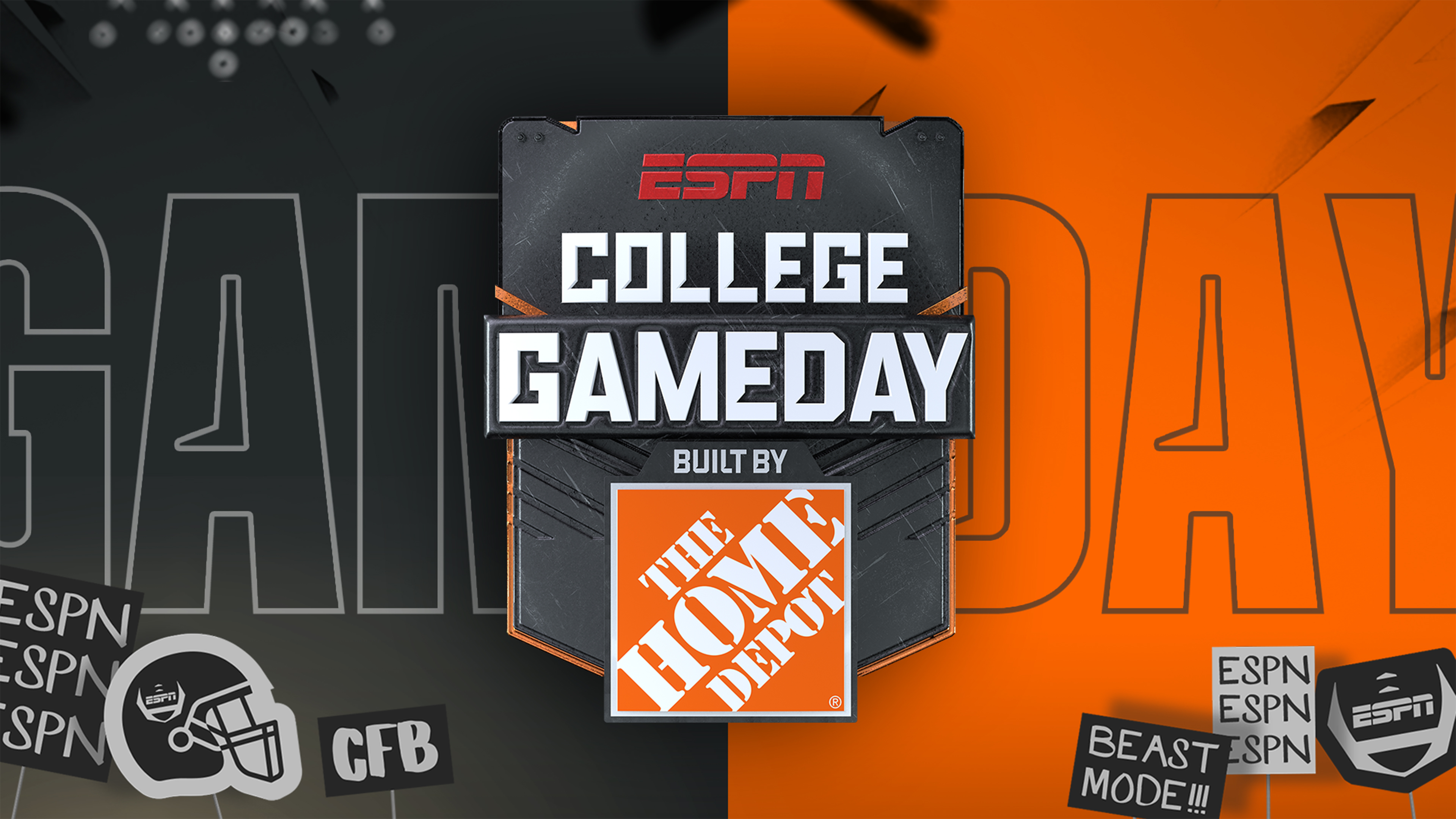 College GameDay Featured: Built by The Home Depot