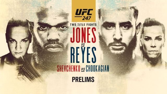 Sun, 2/9 - In Spanish - UFC 247: Jones vs. Reyes (Prelims)