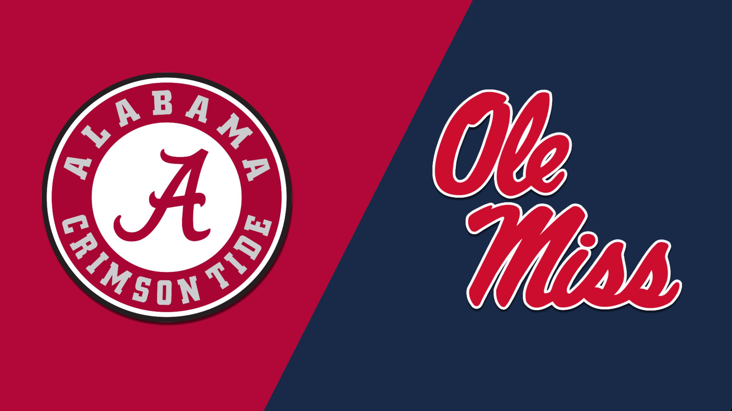 In Spanish - #1 Alabama vs. Ole Miss (Football)