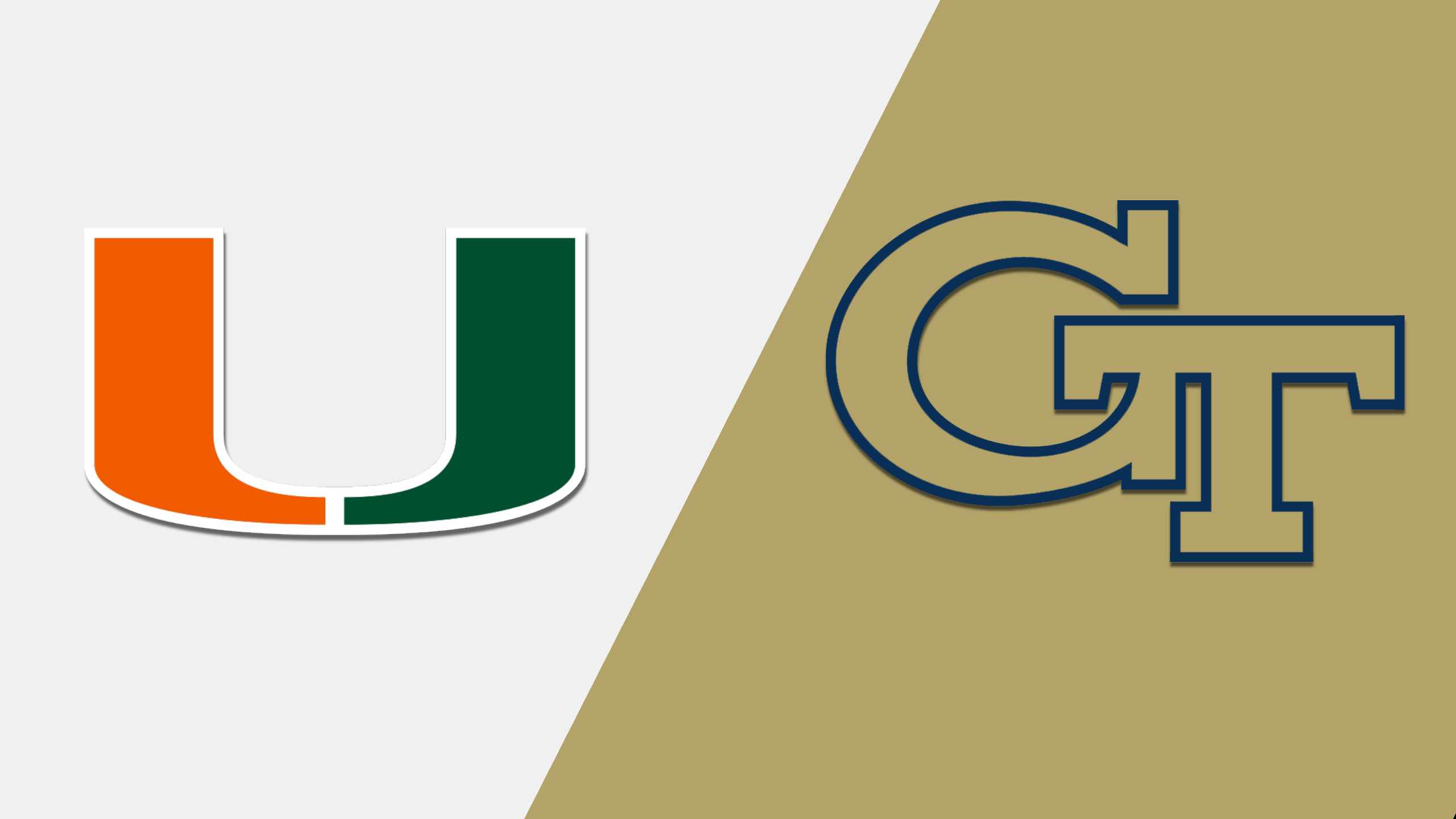 Miami vs. Georgia Tech (Football) (re-air)
