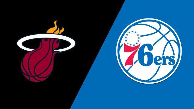 Miami Heat vs. Philadelphia 76ers (First Round, Game 1)
