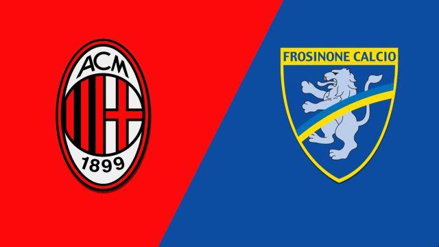 Milan vs. Frosinone