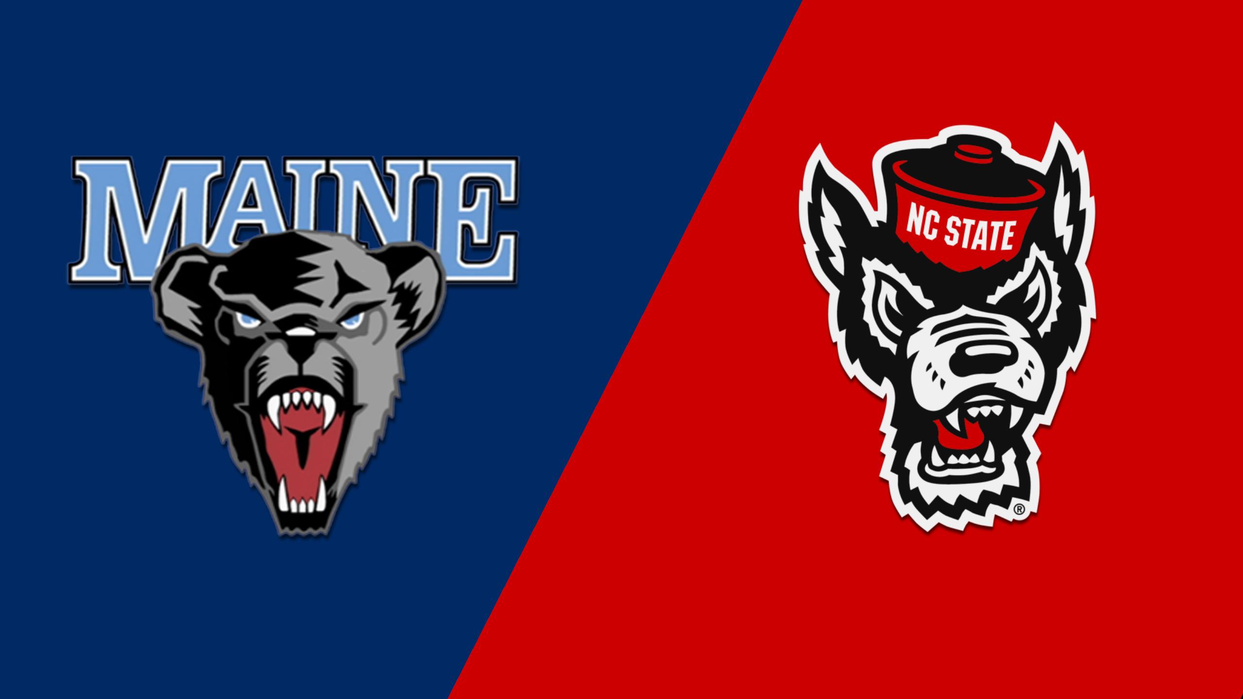 Maine vs. NC State (M Basketball)