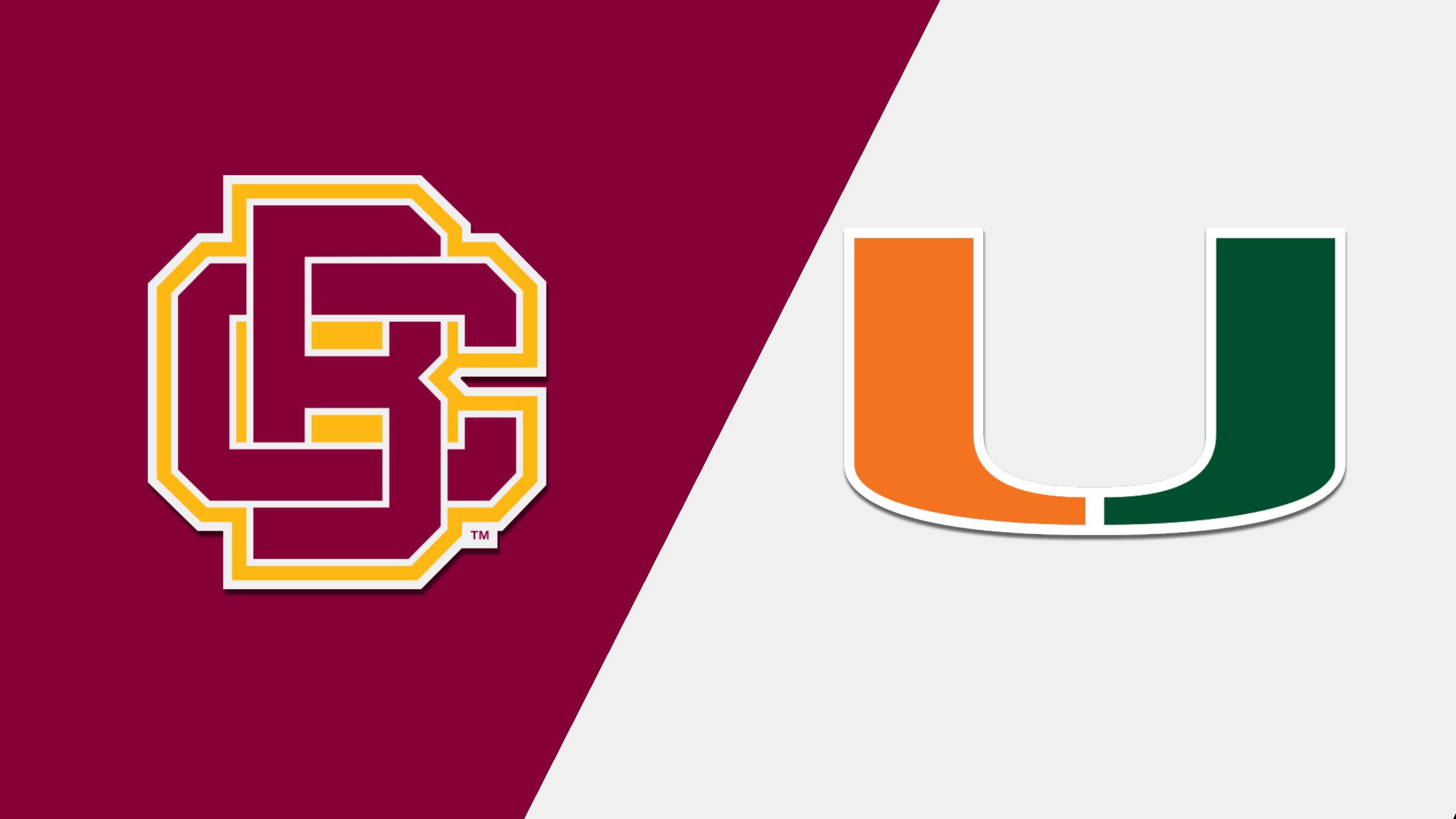 Bethune-Cookman vs. Miami (M Basketball)