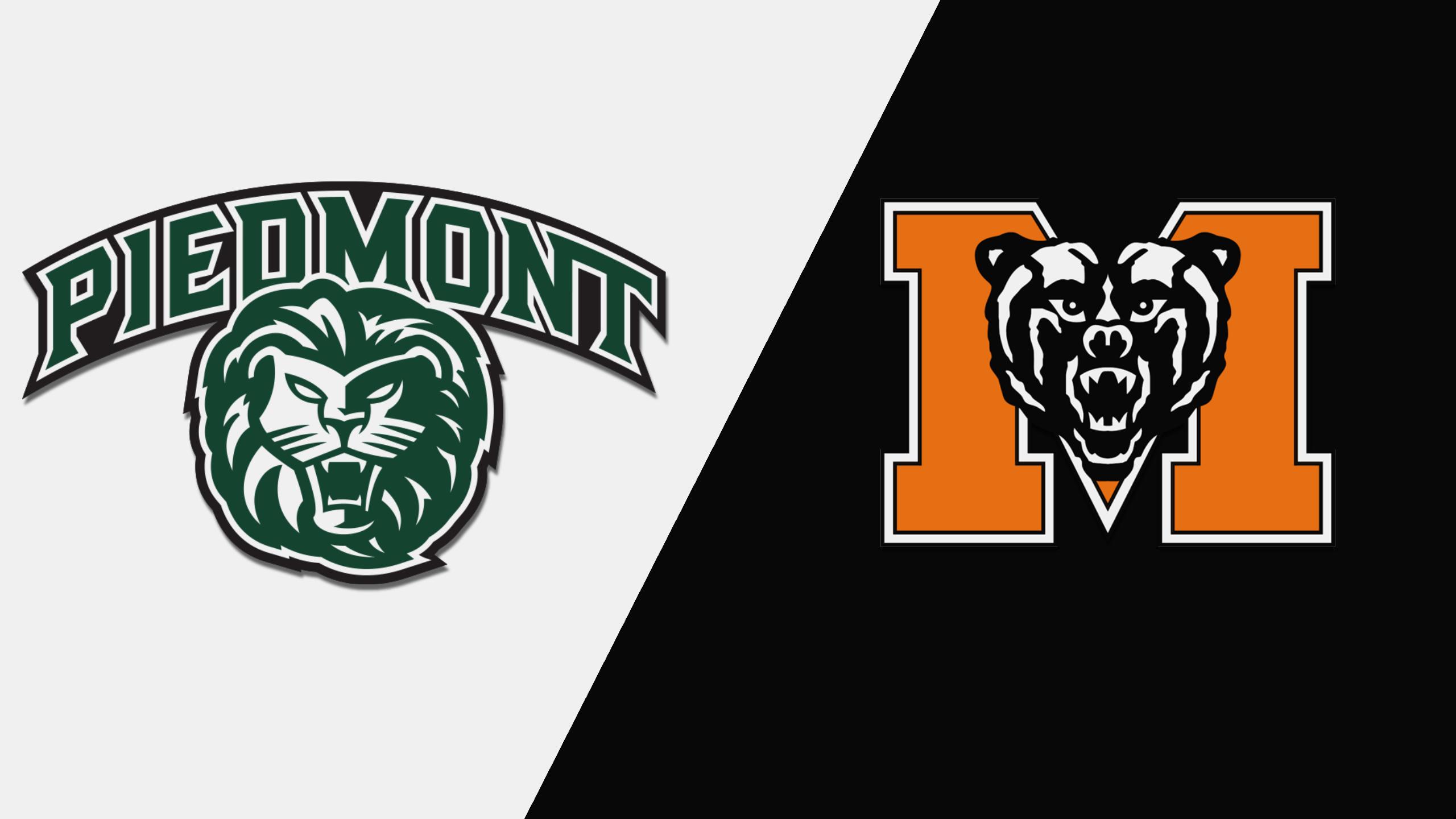 Piedmont College vs. Mercer (M Basketball)