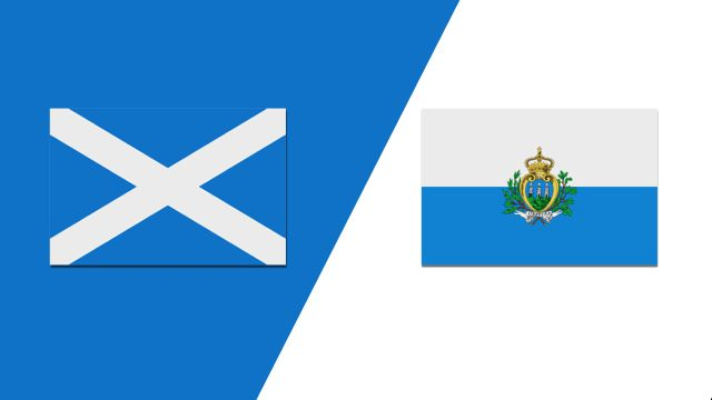 Scotland vs. San Marino (UEFA European Qualifiers)