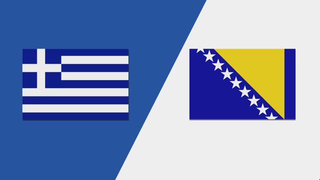 Greece vs. Bosnia-Herzegovina (UEFA European Qualifiers)
