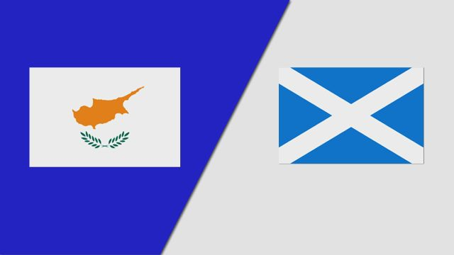 Cyprus vs. Scotland (UEFA European Qualifiers)