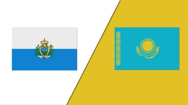 San Marino vs. Kazakhstan (UEFA European Qualifiers)