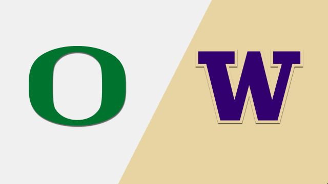 #12 Oregon vs. #25 Washington (Football)