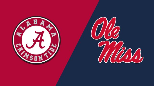 Alabama vs. Ole Miss (Baseball)