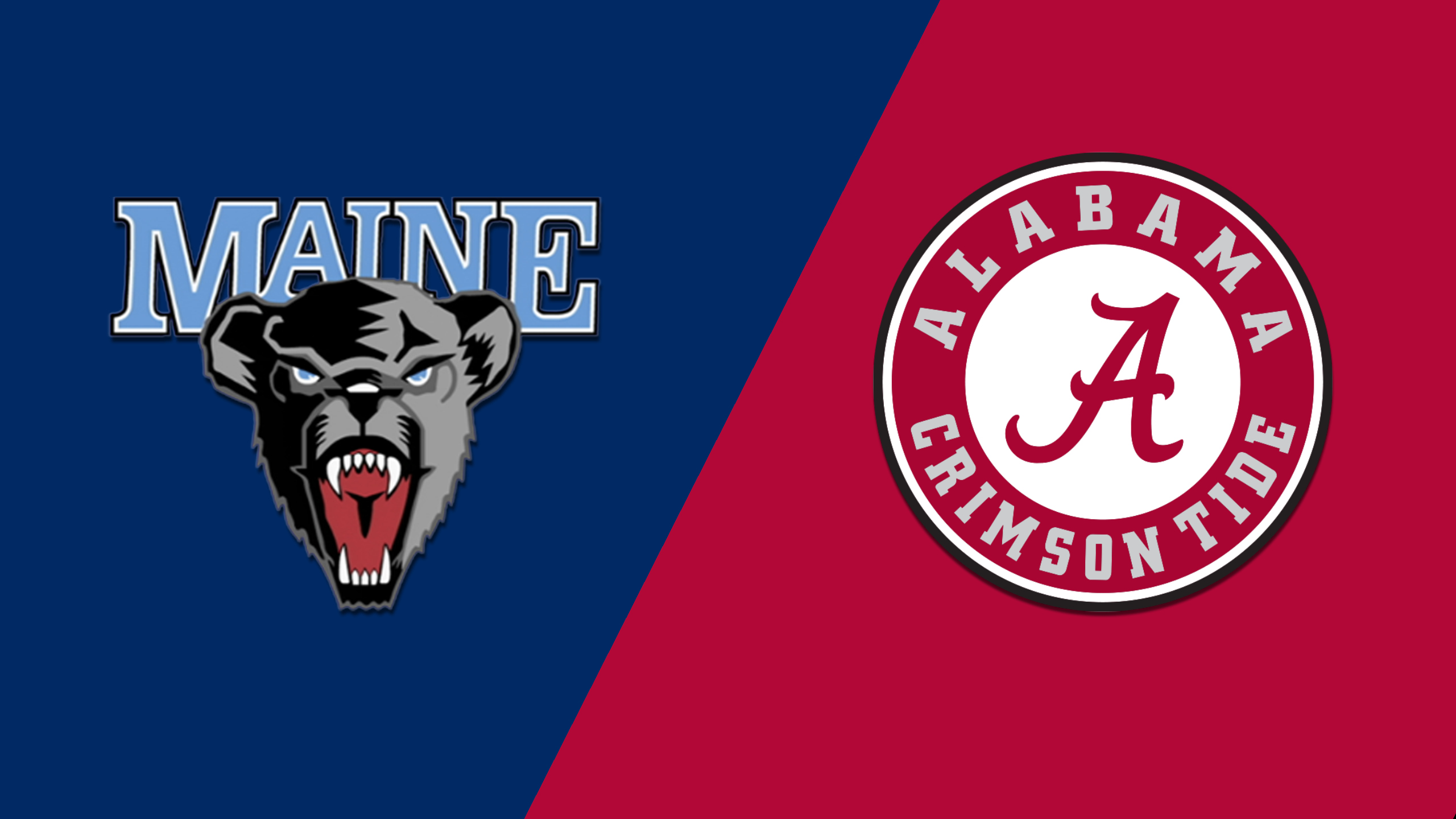 Maine vs. Alabama (Baseball)