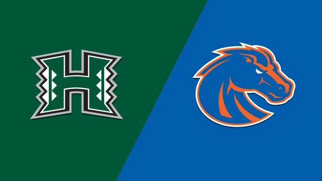 Sat, 10/12 - Hawaii vs. #14 Boise State (Football)