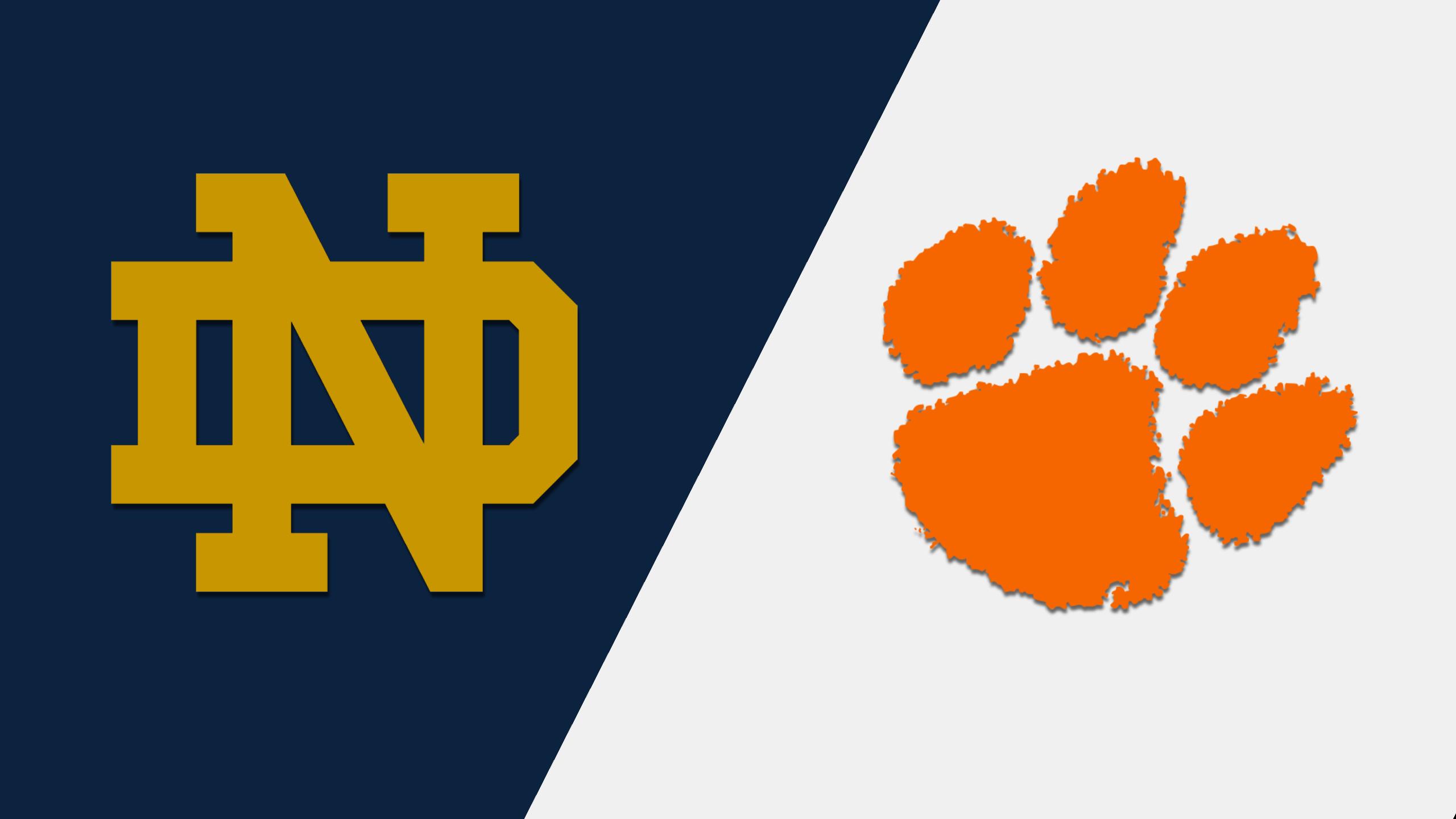 Notre Dame vs. #20 Clemson (Baseball)