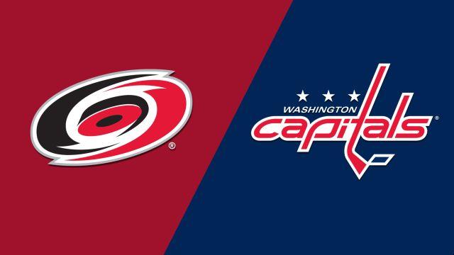 Carolina Hurricanes vs. Washington Capitals (Game #5)