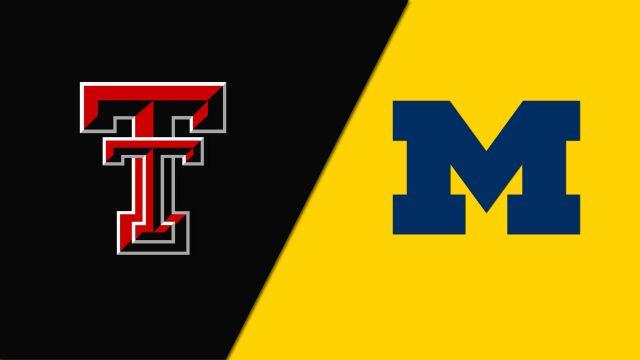 Texas Tech vs. Michigan (Game 11)
