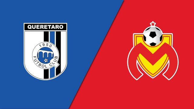 In Spanish-Gallos Blancos de Querétaro vs. Monarcas de Morelia (Jornada 19) (Liga MX)