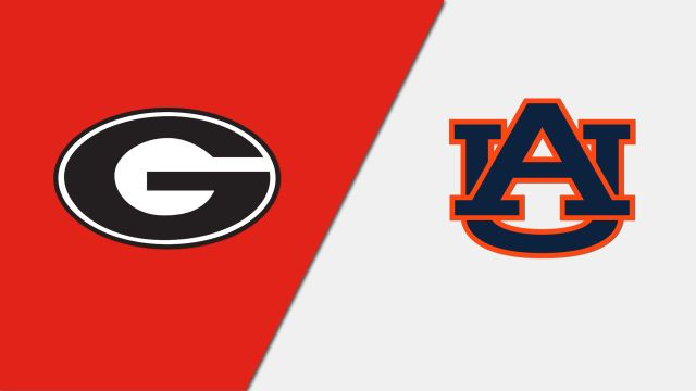 Georgia vs. Auburn (re-air)