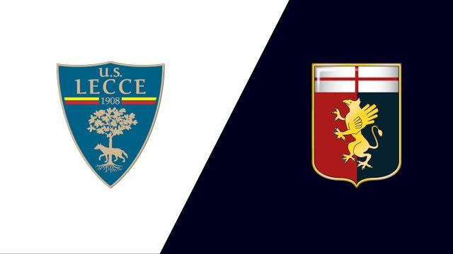 Lecce vs. Genoa