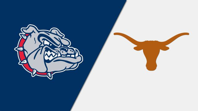 Gonzaga vs. Texas (re-air)