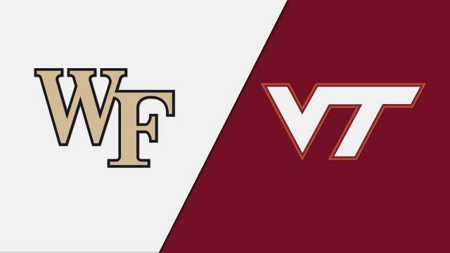Wake Forest vs. Virginia Tech (W Volleyball)