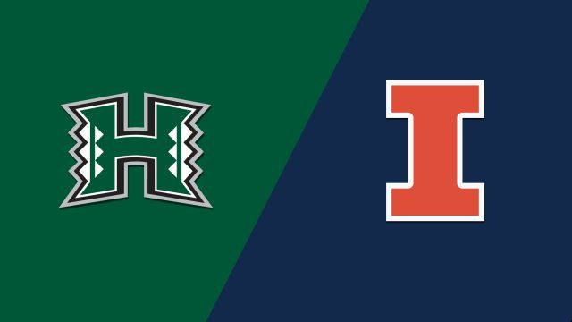 Hawaii vs. Illinois (M Basketball)
