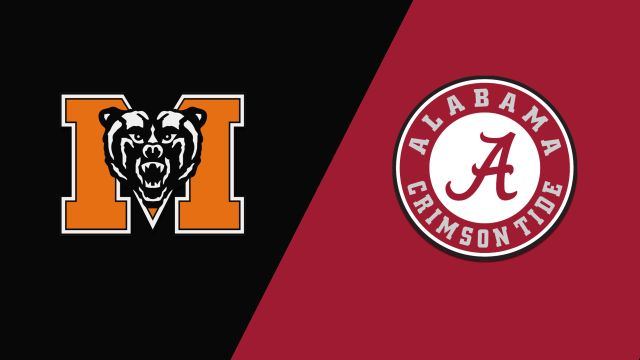 Mercer vs. Alabama (W Basketball)