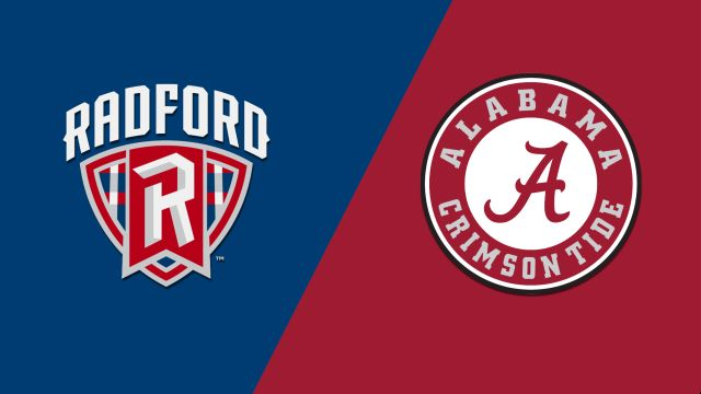 Radford vs. Alabama (W Basketball)