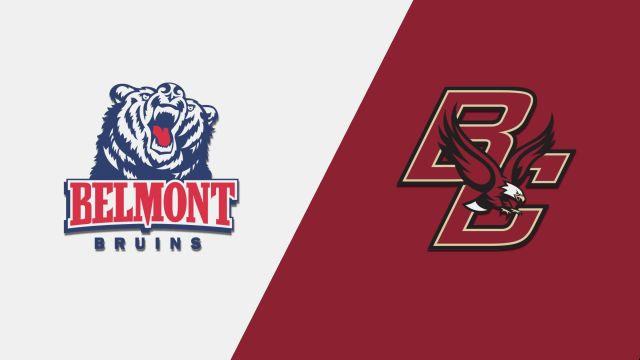 Belmont vs. Boston College (M Basketball)