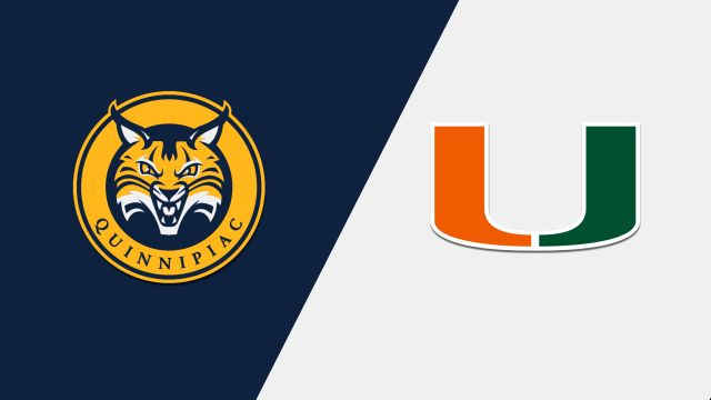 Quinnipiac vs. Miami (M Basketball)