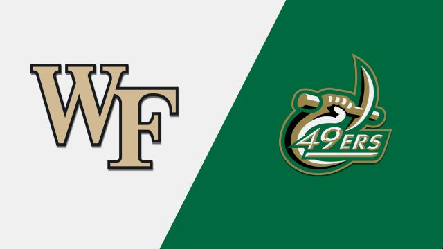 Wake Forest vs. Charlotte (M Basketball)