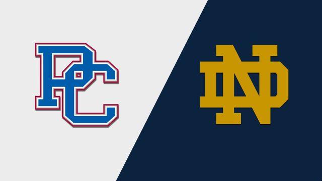 Presbyterian vs. Notre Dame (M Basketball)