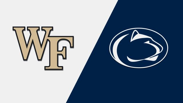 Wed, 12/4 - Wake Forest vs. Penn State (M Basketball)