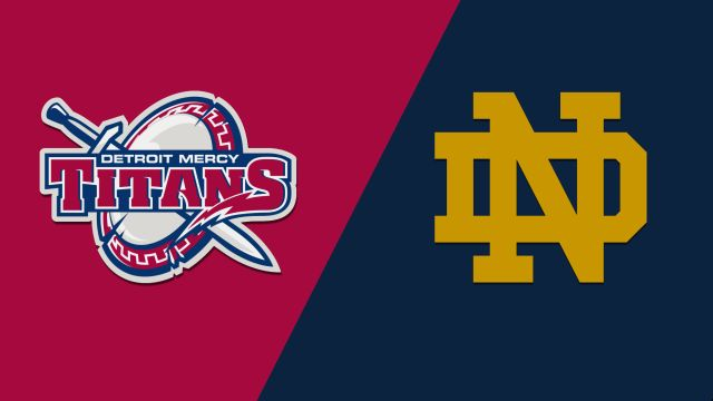 Detroit Mercy vs. Notre Dame (M Basketball)