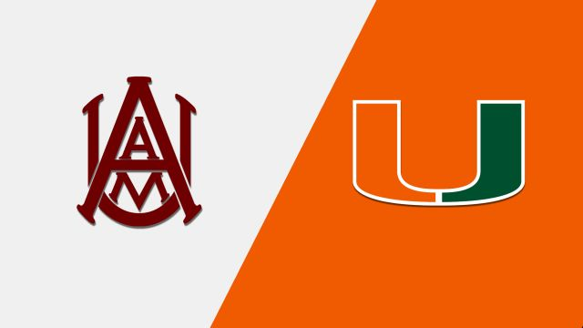 Alabama A&M vs. Miami (M Basketball)