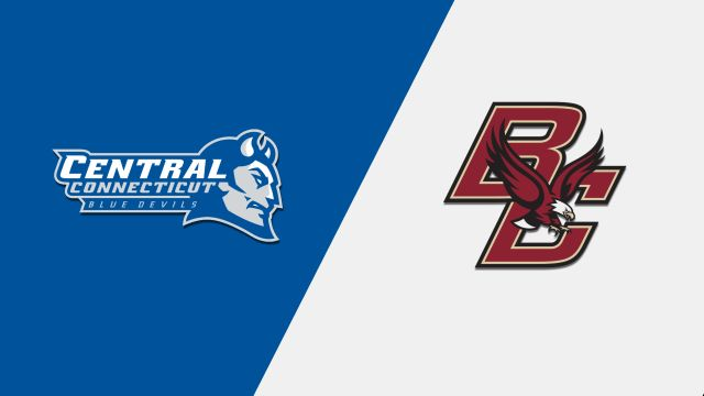 Central Connecticut vs. Boston College (M Basketball)