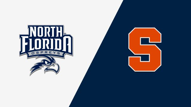 North Florida vs. Syracuse (M Basketball)