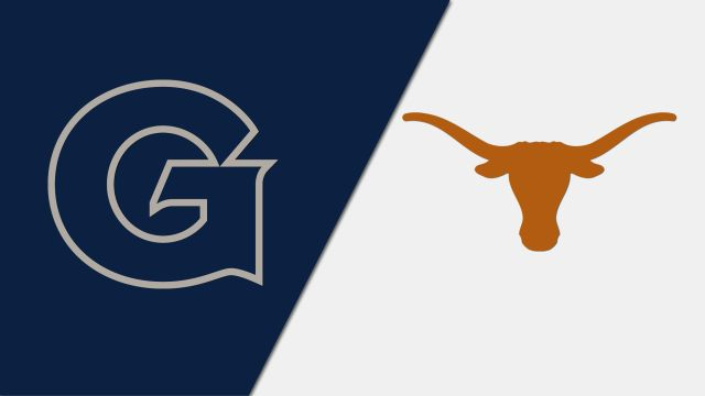 In Spanish-Georgetown vs. #22 Texas (Semifinal #1) (2K Sports Classic)