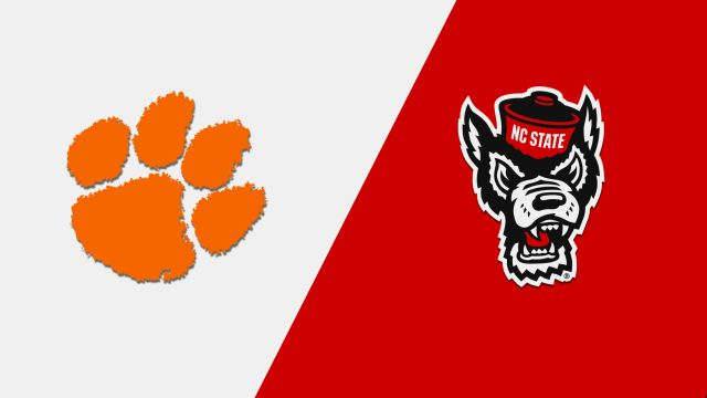 Clemson vs. NC State (M Basketball)