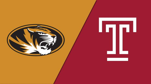 Sat, 12/7 - Missouri vs. Temple (M Basketball)